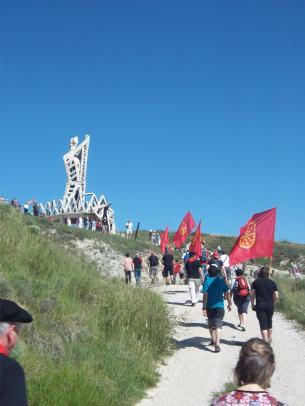 Monumento a la batalla de Noain (Iturria: I. Larramendi)