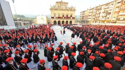 Alarde de San Marcial, en Irun (Iturria: www.sanmarciales.com)