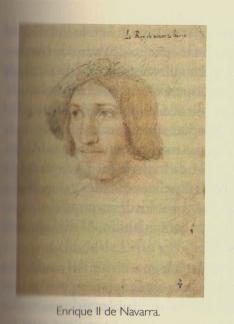 """Retrato de Enrique II (Fuente: """"La Guerra de Navarra (1512-1529). Crónica de la conquista española"""", de Peio Monteano"""