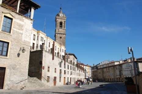 Gasteizko Aiotz plaza (Argazkia: Iñigo Larramendi)
