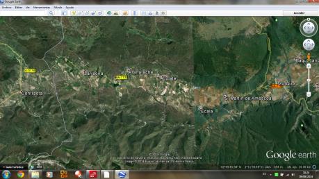 Urbasa-Lokitz, berriro (Iturria: Google Earth)