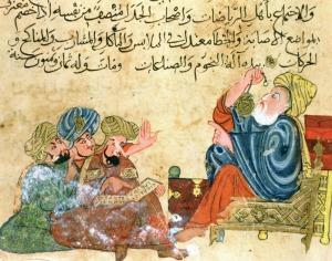 Los astrónomos y matemáticos musulmanes hicieron de la observación y la experimentación (empirismo) la principal fuente del conocimiento científico (Iturria: https://horusscientificgroup.files.wordpress.com)