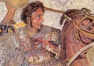 El general macedonio Alejandro Magno (Fuente: Wikipedia)