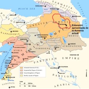 Armenia bajo el reinado de Tigranes