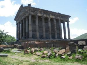 Palacio de Garni (s. I d.C.). Residencia de verano de los reyes armenios, de clara inspiración helenística (Argazkia: I. Larramendi)