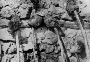Armenios decapitados (Iturria: Armeniapedia)