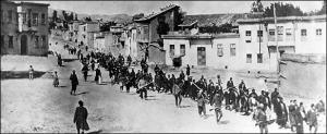 Las caravanas de la muerte (Iturria: Armeniapedia)