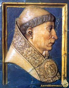 """El cardenal Cisneros (1436-1517). Según los padres Moret y Aleson, en 1516 ante el Consejo de Castilla """"propuso no solamente desmantelar todas las Villas, y Plazas fuertes de Navarra, sino también dejar todas sus tierras yermas, sin permitir que se labrasen, de suerte que sólo sirviesen para pastos de los ganados"""" (Iturria: www.artehistoria.com)"""