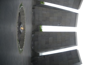Memorial del Genocidio, en Yerevan (Argazkia: Iñigo Larramendi)