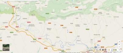 Sonsierra eta inguruko herriak (Iturria: www.googlemaps.com)