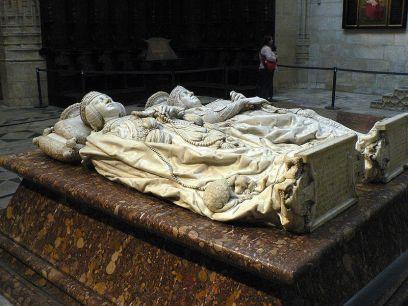 Pedro Fernández de Velasco Manrique de Lara eta bere emaztearen hilobia, Burgoseko katedralean (Iturria: Wikipedia).