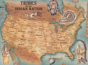 Mapa de los pueblos originarios -