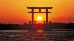 El Sol Naciente, presente en el nombre y la bandera de Japón (It.: www.raicesdeeuropa.com)