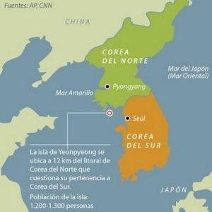 La Corea dividida (Iturria: