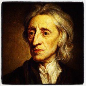"""John Locke (1632-1704). Pensador inglés, considerado el padre del Liberalismo clásico. Inspirador de la Revolución Americana, desarrolla en su """"Segundo tratado sobre el Gobierno Civil"""" la relación entre la sociedad civil y el Estado (Iturria: www.taringa.net)"""