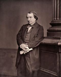 """Ernest Renan (1823-1892). Francés, principal teórico del concepto de """"nación"""" propio de los Estados-nación de Europa Occidental (Iturria: Wikipedia)"""