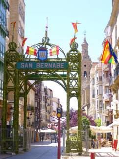 Arco conmemorativo de la batalla del día de san Bernabé (11 de junio de 1521) (Fuente: wikimedia.org)
