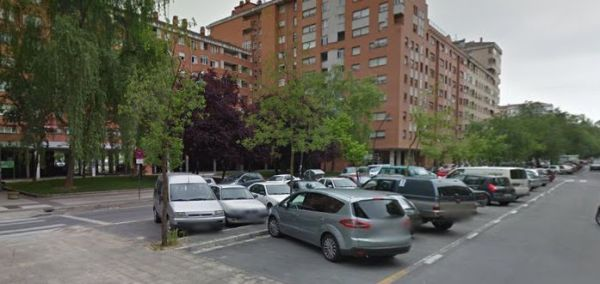 Calle Voluntaria Entrega, en el barrio vitoriano de Lakua-Arriaga (Fuente: www.gasteizhoy.com)