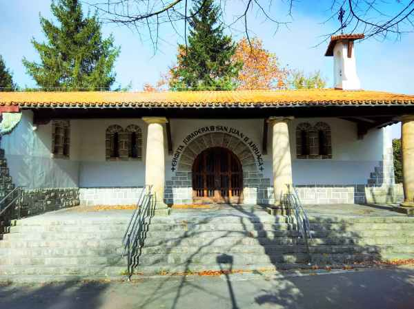Ermita juradera de San Juan de Arriaga, en el parque de Arriaga (Vitoria-Gasteiz) (Fuente: http://devitoriaalmundo.wordpress.com)