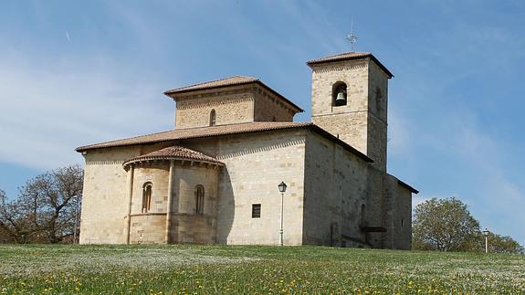 Basílica de San Prudencio, en Armentia (Fuente: El Correo)