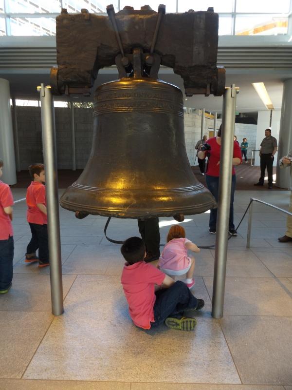 """La """"Campana de la Libertad"""", en Philadelphia (Estados Unidos) (Imagen propia)"""