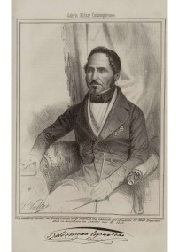 """Baldomero Espartero, Duque de la Victoria (Fuente: """"Galería Militar Contemporánea"""", Tomo II, 1846)"""